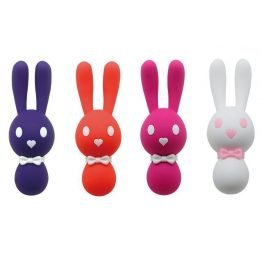 Bunny Vibrator with Rabbit Ear Tickler Sex Toy Free Shipping SQ316