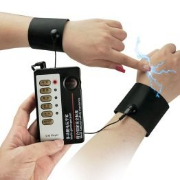 Electric Shock Magic Arm Bracelet Vibrator Body Massager Muscle Relax Erotic Toy Free Shipping SQ434