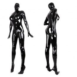 Latex Catsuit Full Cover Free Shipping SQ15708