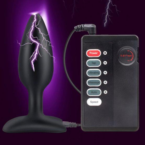Electric Shock Anal Plug