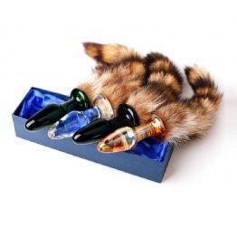 Glass Tail Anal Plug