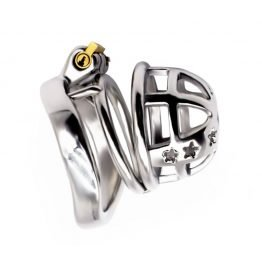 Steel Chastity Cage Small